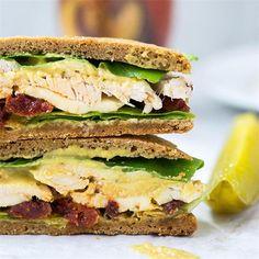 Almond Flour Flatbread Sandwiches by @queenofmykitche - #KeepOnCooking
