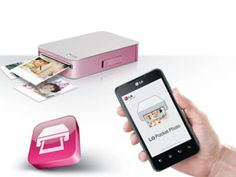 La impresora Pocket Photo cuenta con tecnología ZINK (sin tinta), soporte para Bluetooth y NFC, función de generador de código QR y te per...