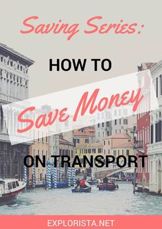 Depending on where you'll travel and how long you'll stay, transport is most likely to be one of your biggest travel expenses. Here's how you can save money on transport.