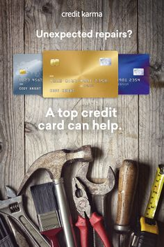 Making home repairs? The right credit card could make a huge difference. A 21-month 0% intro APR card could allow you to pay off your balances over time without wasting money on interest, and a great rewards card could help you get cash back for money you would�ve spent anyway. Browse some of the best credit cards of 2017 on Credit Karma.