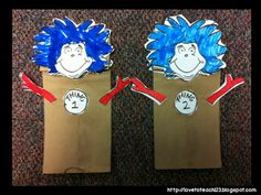 Check out this cute Thing 1/Thing 2 printable freebie from Learning Together.