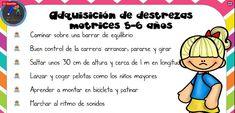 DESARROLLO PSICOMOTOR Adquisición de destrezas motrices en el período 2-6 años