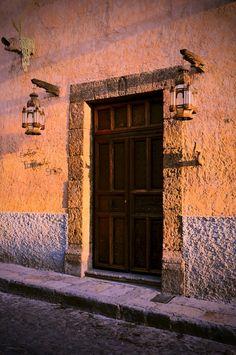 Door in San Miguel de Allende, Guanajuato,  Mexico   .....rh