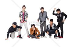 male group model - Male group model in various posed