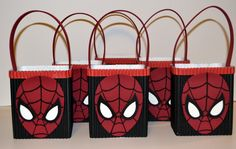 Hey, I found this really awesome Etsy listing at https://www.etsy.com/listing/202777670/spiderman-inspired-party-favorgoodie-bag