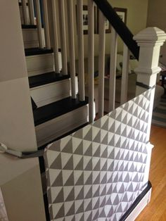 DIY fabric baby gate- great for bringing with you to the grandparents!