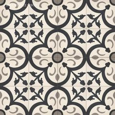 Cement Tile Shop: Orleans Charcoal