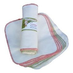 $15.99 Baby These unbleached cotton flannel wipes are the softest, most natural way to clean your baby. Because they are unbleached, the flannel retains their softness. Perfect for sensitive skin. 8 x8 inches. Our Diaper Lotion Potion makes the perfect solution for your natural wipes. Each package comes with 12 wipes.