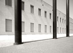 Architekturfotografie Bernhard Marks. Bundeskunsthalle Bonn - Architekt Gustav Peichl