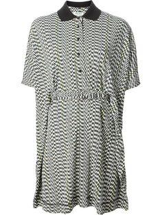 Kenzo 'whitenoise' Print Dress - The Corner Berlin - Farfetch.com