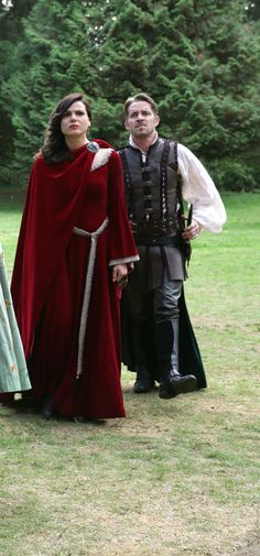 "Regina and Robin - 5 * 7 ""Nimue"" #OutlawQueen"