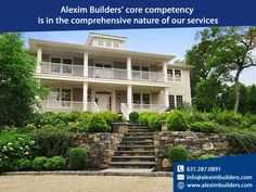 Alexim Builders' core competency is in the comprehensive nature of our services Contact us by sending a message on whatsapp and we will contact you 631.287.0891 #alexim #aleximbuilders #realestate #exterior #homedecor #interior #homedesign #construction #architect #landscapedesign #outdoorliving #landscape #interiordesigner #gardendesign #architecturephotography #homesweethome #luxuryhomes #architecturelovers #renovation Hamptons House, The Hamptons, Custom Home Builders, Custom Homes, Home Developers, Painting Contractors, New Home Construction, Exterior Paint, House Painting