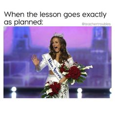 Miss Georgia Betty Cantrell was crowned Miss America 2016 at a ceremony in Atlantic City Sunday night. School Quotes, School Memes, Best Teacher, School Teacher, Miss America Winners, Teacher Humour, Teaching Memes, Classroom Memes, Teacher Boards