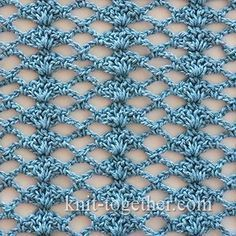Crochet Shell Stitch and Mesh shawl - detailed description and crochet chart #crochet…