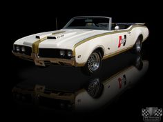 1969 Oldsmobile 442 Hurst/Olds Convertible Pace Car 455 4 Speed