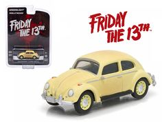 "1963 Volkswagen Beetle ""Friday The 13th Part III\"" (1982) Movie Hollywood Series 9 1/64 Diecast Model Car by Greenlight"