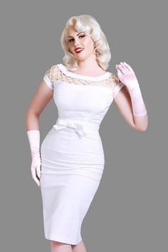 Dresses on pinterest green summer dresses asos and pinup for 50 s pin up wedding dresses