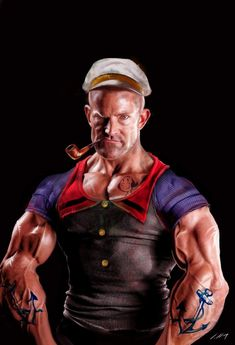 Funny pictures about Realistic Popeye. Oh, and cool pics about Realistic Popeye. Also, Realistic Popeye. Popeye Le Marin, Star Anime, Cartoon Art, Cartoon Characters, 3d Character, Character Design, Popeye And Olive, Popeye The Sailor Man, Olive Oyl