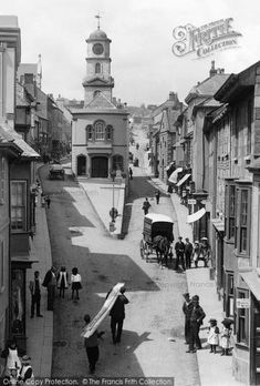 Photo of Penryn, 1897 from Francis Frith St Ives, How To Make Cake, Cornwall, Britain, England, Earth, Black And White, History, Wales