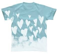 heart in the sky Hand Painted Dress, Hand Painted Fabric, Painted Clothes, Paint Shirts, Gap Kids, Fabric Painting, Kids Outfits, Mens Tops, Inspiration