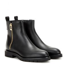 "Roger Vivier - Leather Chelsea boots - mytheresa.com, $925, calf, 1""/0.5"""