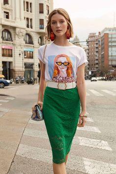 Waist Skirt, High Waisted Skirt, Skirts, Vintage, Style, Fashion, Swag, Moda, Skirt