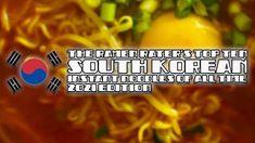 The Ramen Rater's Top Ten South Korean Instant Noodles 2021 Edition Cheese Ramen, Cheese Noodles, Korean Instant Noodles, Korean Noodles, Samyang Ramen, Cocktail Weenies, Spicy Stew, Tteokbokki, Red Sauce
