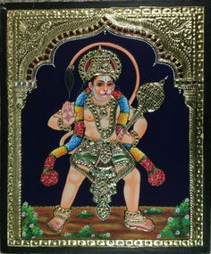 Tanjore Hanuman Artwork. In Tanjore paintings one can see the influence of Deccani, Vijayanagar, Maratha and even European styles of painting. Both religious and secular subjects are depicted in Tanjore paintings.#tanjorepaintings, #tanjorepainting, #tanjorepaintingsonline, #tanjorepaintingsonlineshopping, #tanjorepaintingonline, #tanjorepaintingbangalore, #tanjorepaintingforsaleonline, #tanjorepaintingsbangalore,