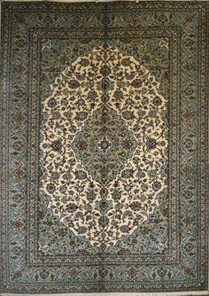 Large Persian Hand-Knotted Ardakan Rug in Wool - Ref: 1555 - 3.51m x 2.52m