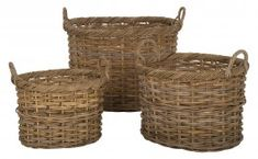 Rattan Baskets - great for towels