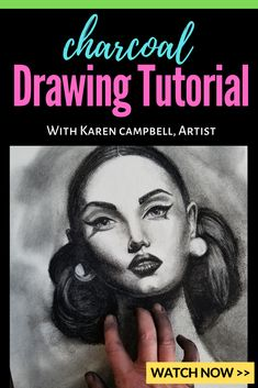 In this video, I really want to talk about why charcoal is such a good medium for drawing portraits and especially good for practicing good shading technique. Drawing Journal, Drawing Tips, Drawing Process, Drawing Tutorials, Charcoal Drawing Tutorial, Youtube Drawing, How To Shade, Online Art Classes, Shading Techniques