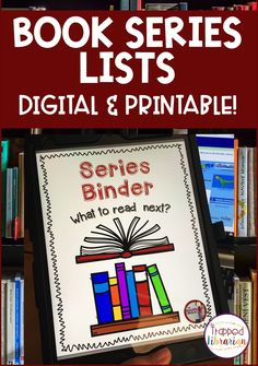 Help your students find good book series that they will love! These lists of popular book series in order at your fingertips will help your students find good books that will keep them reading! Print and digital versions will meet the needs of any school library or classroom. #thetrappedlibrarian #schoollibrary Popular Book Series, Popular Books, Elementary School Library, Elementary Schools, Learning Activities, Teaching Resources, New Books, Good Books, Dork Diaries