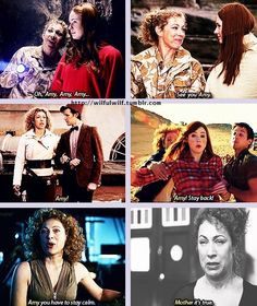 """For river song, ""Amy"" always meant mother."""