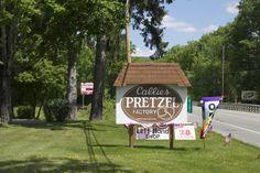 Callie's Pretzel factory, Cresco PA - the Poconos