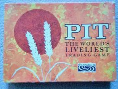 Vintage PITT card game. The World's Liveliest Trading Game. Parker Brothers 1964