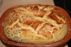 A Quickie in Römertopf = a fast, delicious bread- Ein Quicki im Römertopf = ein schnelles, leckeres Brot A Quickie in Römertopf = a fast, delicious bread - Tasty Bread Recipe, Bread Recipes, Baking Recipes, Pampered Chef, German Bread, No Bake Granola Bars, Pomegranate Recipes, Baked Chicken Tenders, Baked Pumpkin