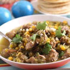 Latin Pork & Tomatillo Stew