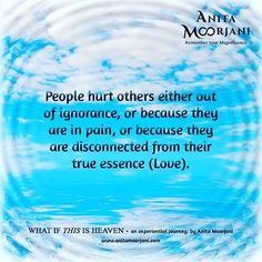 I am sending you all wishes for a happy and beautiful weekend! ✨🌈 #WhatIfThisIsHeaven #AnitaMoorjani #DyingToBeMe #LoveHeals #NDE #HurtPeopleHurtPeople #Forgive #Forgiveness #selfcarechallenge