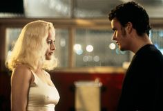 """Lost Highway"" movie still, 1997. L to R: Patricia Arquette, Balthazar Getty."