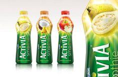 Activia Smoothie - by Sheerman Blunt Yogurt Packaging, Beverage Packaging, Bottle Packaging, Activia Yogurt, Food Packaging Design, Specialty Foods, Pet Bottle, Juice Bottles, Bottle Design