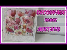 (92) Decoupage en relieve con acetato (3D) -Tutorial - DIY - YouTube Kids Class, Creative Art, Art For Kids, Scrapbook, Handmade, Diy, Youtube, Pasta, Bottles
