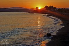 akarca sahil günbatımı