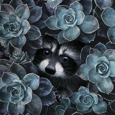 'Lilledes ' by Mirell Jänes Nature Animals, Animals And Pets, Baby Animals, Funny Animals, Cute Animals, Wild Animals, Amazing Animals, Animals Beautiful, Animal Drawings
