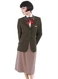 1980's Eastern Flight Attendant Uniform by Bill Haire. This one won awards for the best in the aviation industry.