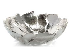 Hammered Nickel Bowl - Accessories - Accessories & Botanicals - Our Products