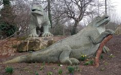 Crystal Palace Dinosaurs My local park when I was very little, was always fascinated by these big boys!!