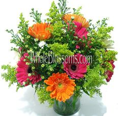 Gerbera Daisy Wedding Centerpieces | Wedding Flowers | Buy Wholesale Wedding Flowers, Bridal Bouquets ...