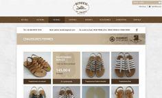 Projets // Création d'un nouveau Site internet avec boutique en ligne pour Rondini, sandale tropéziennes depuis 1927 http://www.agence-sweep.com/fr/references/rondini.html #rondini #Sainttropez #sandales #tropeziennes #boutique