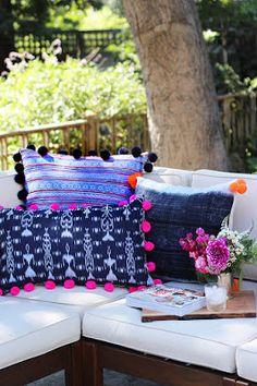 DIY: DIY Pom Pom Pillows