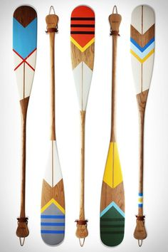 art, inspiration + the life of a crafter Painted Oars, Oar Decor, Native Art, Beach House Decor, Nautical Theme, Home Deco, Wood Art, Projects To Try, Creations